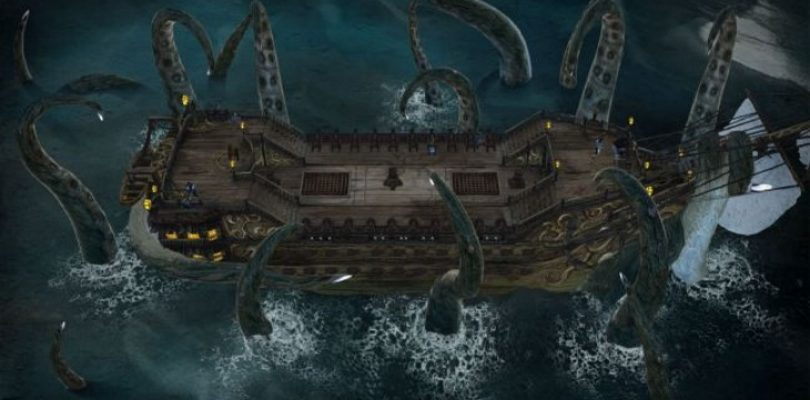 Abandon Ship is FTL meets Sunless Sea and it looks amazing