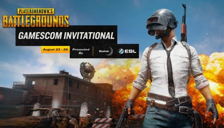 Big esports tournament for PlayerUnknown's Battlegrounds at Gamescom next month