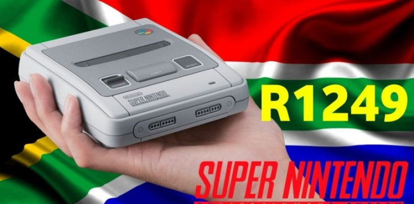 Mini SNES will set you back R1,249, up for pre-order now
