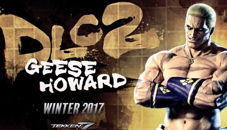 Geese Howard is heading to Tekken 7 later this year