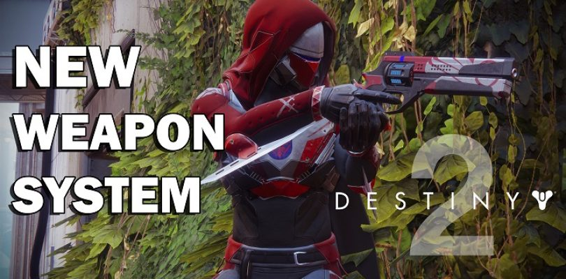 Video: Destiny 2 is getting some big changes to the weapon system