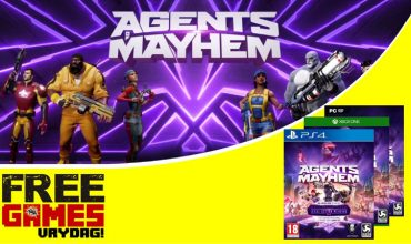 Free Games Vrydag – Agents of Mayhem (PC/PS4/Xbox One)
