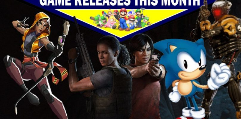 Game releases for August – with some predictions!