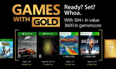 Your Games With Gold hits the sweet spot in September