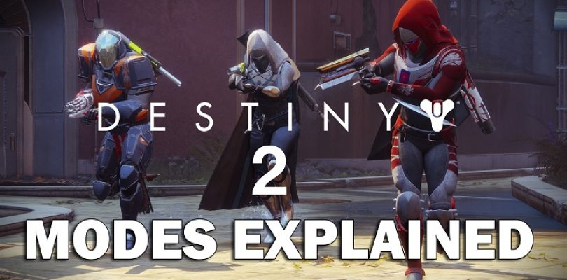 Video: Let's look at the different modes in Destiny 2