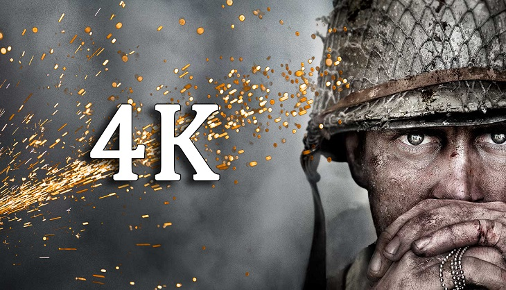Call of duty wwii will get 4k versions on xbox one x and - Is cod ww2 4k ...