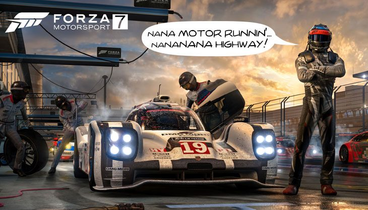 Need an octane boost? Forza 7's new trailer will inject some NOS into your coffee