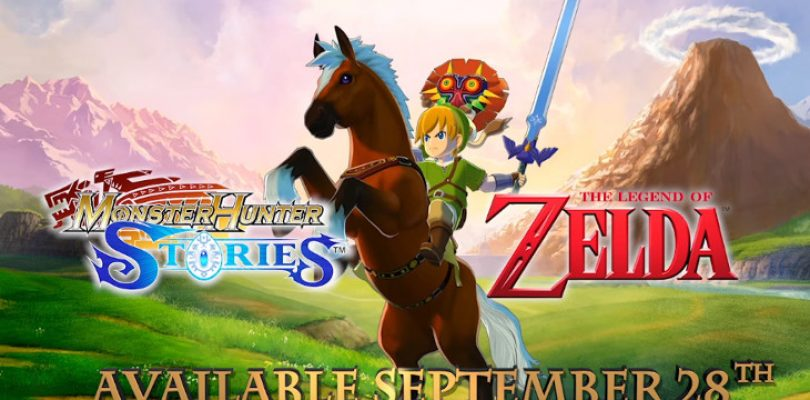 The Legend of Zelda comes to Monster Hunter Stories