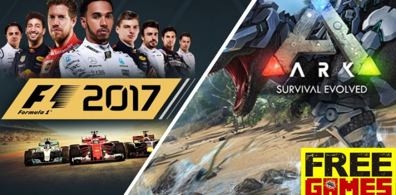 Free Games Vrydag: It's a double whammy with Ark Survival Evolved and F1 2017 (PS4/Xbox One)