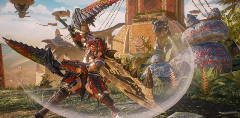 Monster Hunter is ready for the big game in Marvel vs. Capcom: Infinite