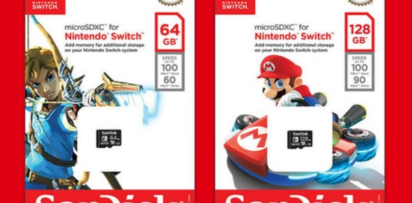 The Nintendo Switch is getting official memory cards
