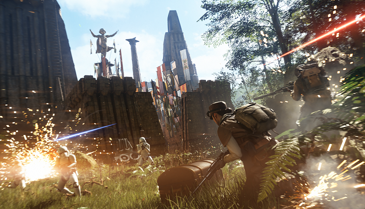 Video: Your mid range PC can max out Battlefront II with ease