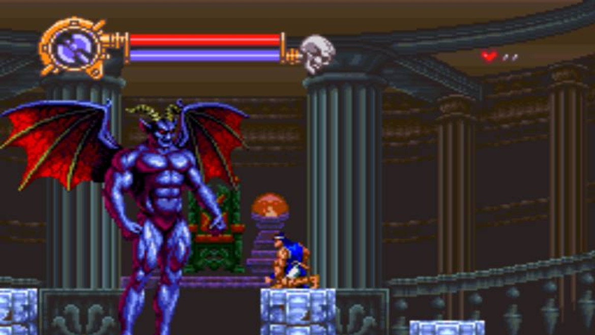 Blast From The Past Castlevania Dracula X Snes Sa Gamer