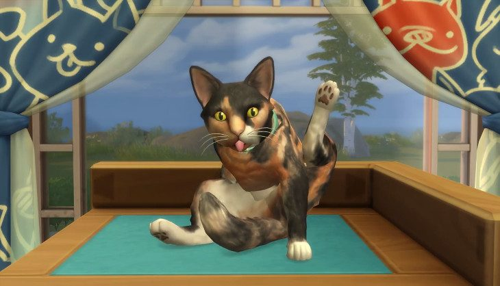 EA shows off how to make your pets in Sims 4 Cats & Dogs
