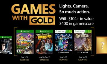 Games with Gold will turn your world upside down in November