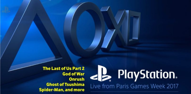 Did you miss PlayStation Paris Games Week 2017? All the videos right here in one place