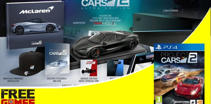 Free Games Vrydag: Project CARS 2 Collector's Edition (PS4)