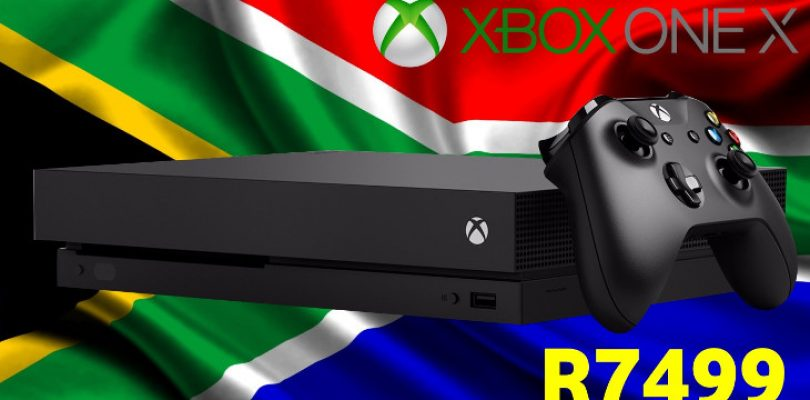 Updated: The Xbox One X to launch at end of this year in SA, retailing at R7499