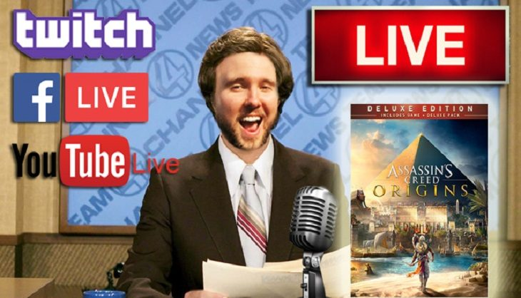 Livestream: Assassin's Creed: Origins time and a chance to win a nice hamper