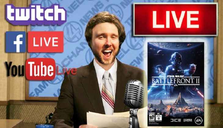 Livestream:  Come watch a real life Jedi