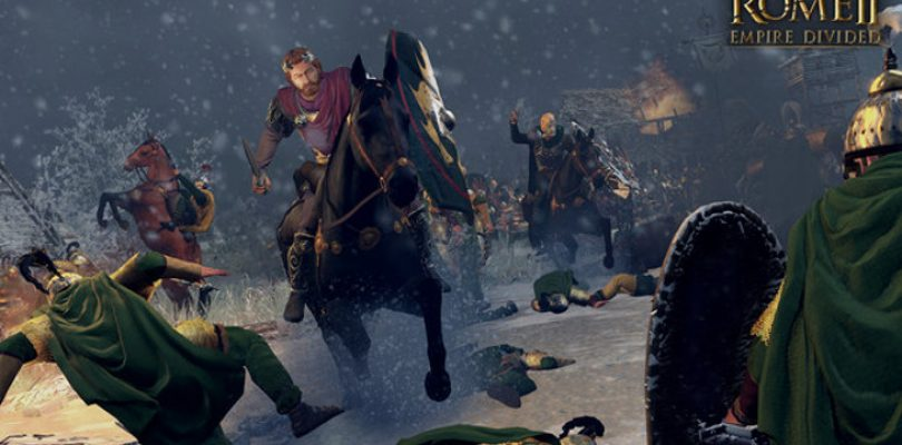 Four years later Total War: Rome 2 is getting a new campaign with Empire Divided