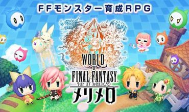 World of Final Fantasy is coming to mobile as a spin-off title