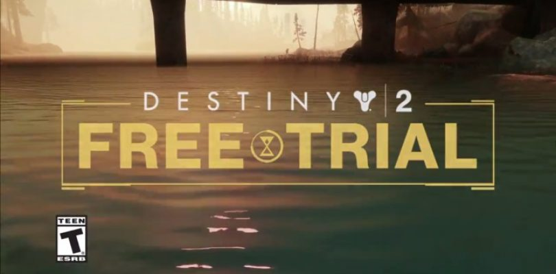 Still unsure if Destiny 2 is for you? Free trial starts today