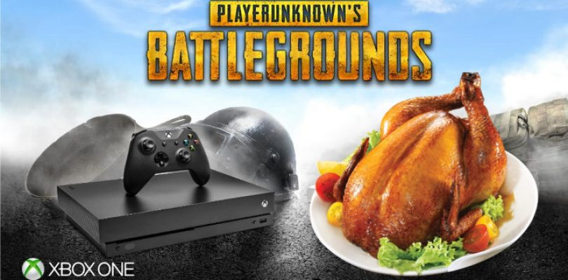 PlayerUnknown's Battlegrounds serving chicken dinners for Xbox One on 12 December