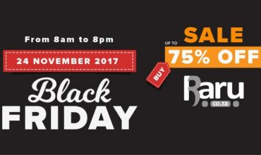 BLACK FRIDAY RARU 2017 DEALS: 8-10AM