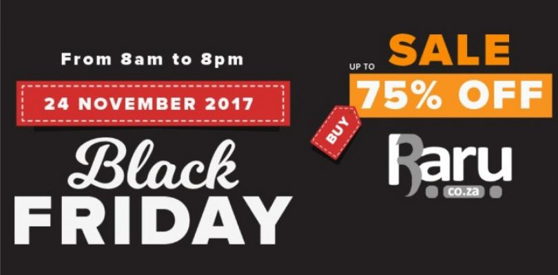 BLACK FRIDAY RARU 2017 DEALS: 5-8PM