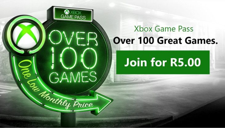 Get Xbox Game Pass this month for a whopping R5