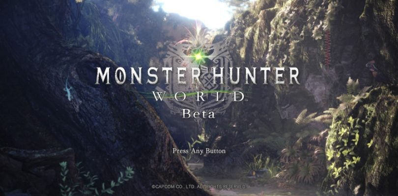 Monster Hunter World beta impressions