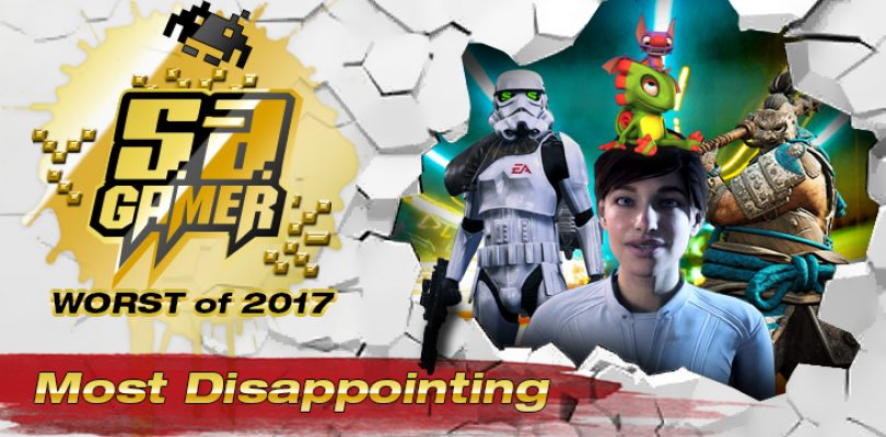 SA Gamer Awards 2017: Most Disappointing