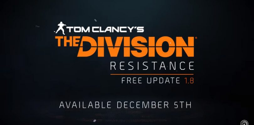The Resistance is born as The Division's free update goes live today
