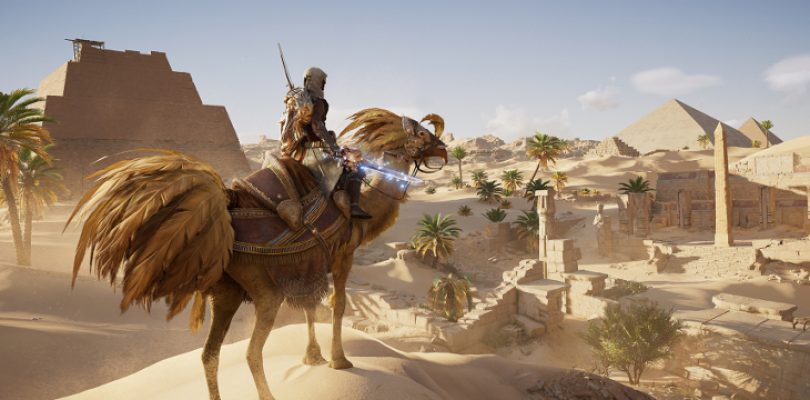 Get ready to ride your Chocobo Camel thing in Assassin's Creed Origins