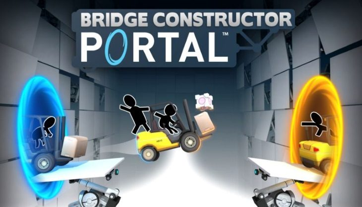 Oh look more Portal… with a bridge constructor game
