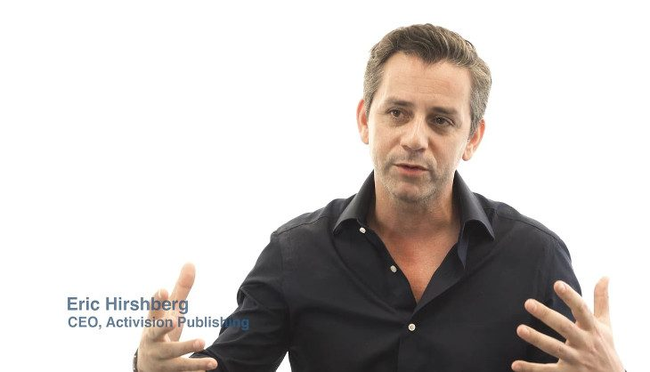 Eric Hirshberg is stepping down as Activision CEO