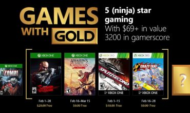 Step out of the shadows for a split/second as Games with Gold is crazy good in February