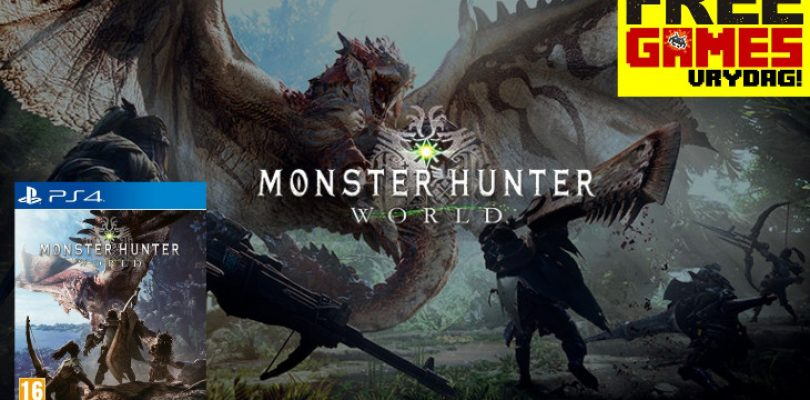 Free Games Vrydag winner is a worldwide monster hunter