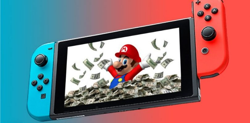 Switch outsells Wii U in 10 months, forecast increased to over 17 million by fiscal year end