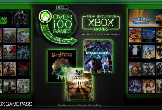 All Microsoft Studios titles heading to Xbox Game Pass service on launch day