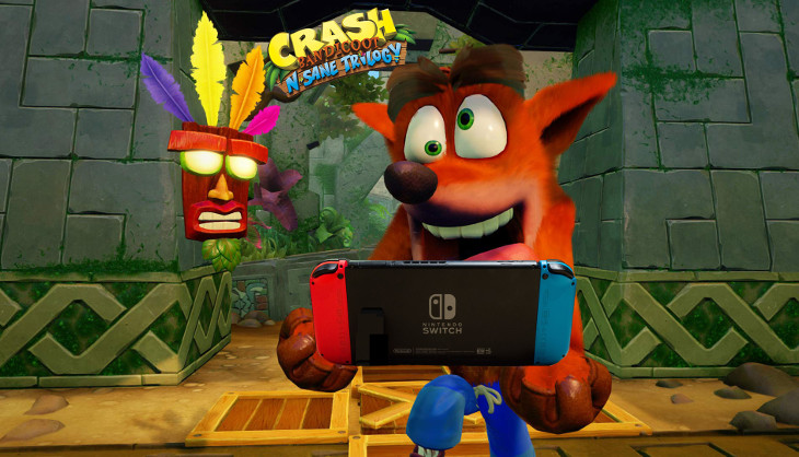 Rumour: Hey, is that Crash Bandicoot on the Switch!? - SA Gamer