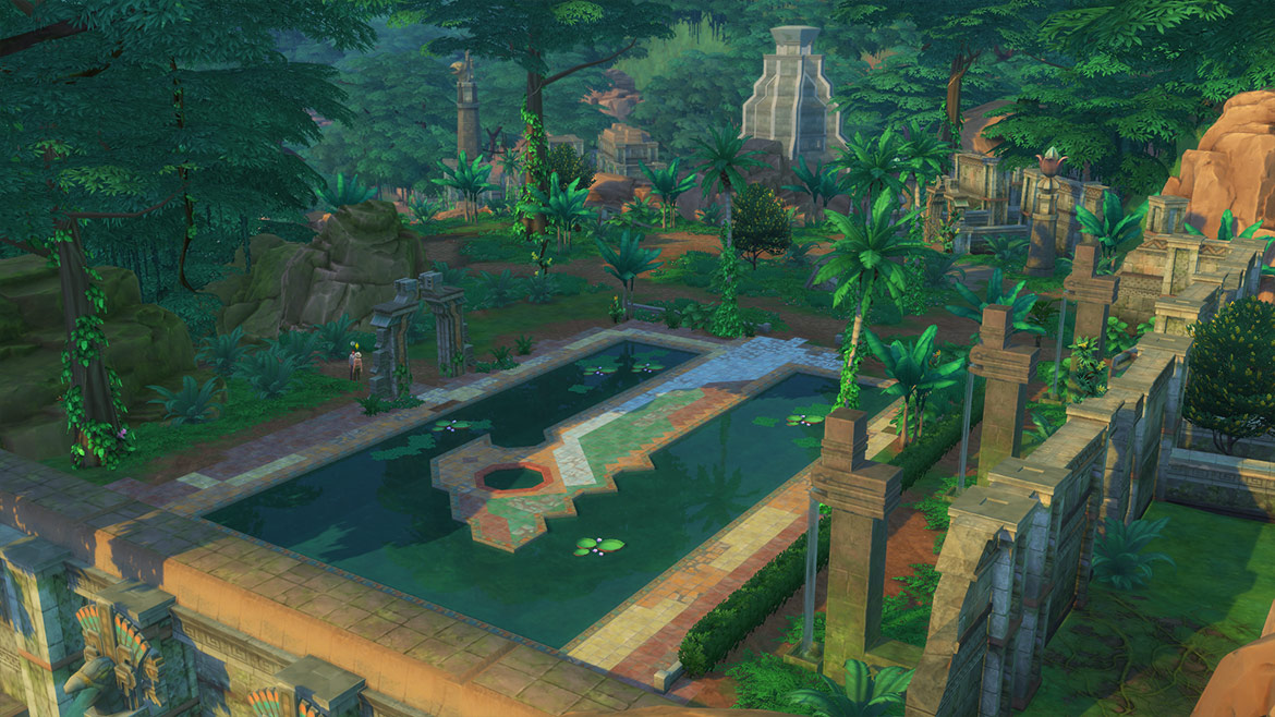 review the sims 4 jungle adventures game pack pc sa gamer