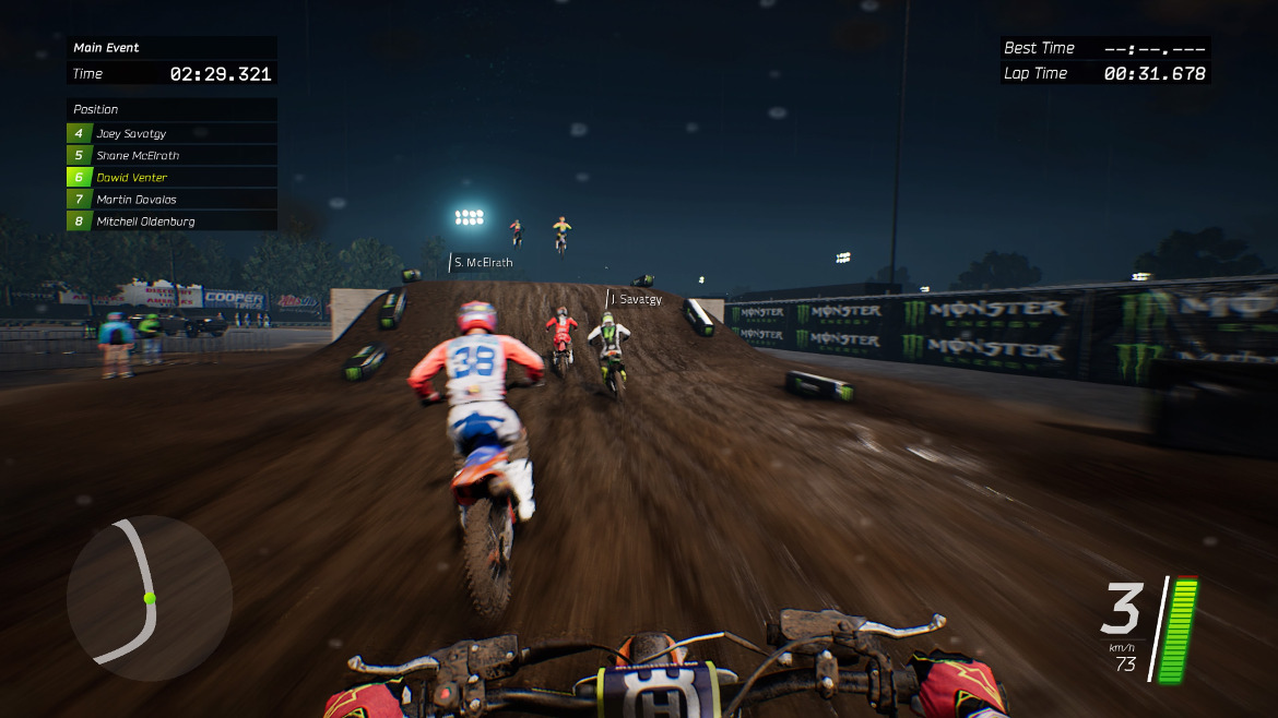 review monster energy supercross the official videogame. Black Bedroom Furniture Sets. Home Design Ideas