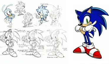 What if Sonic was a 'human boy'? The changing faces of Sonic the Hedgehog