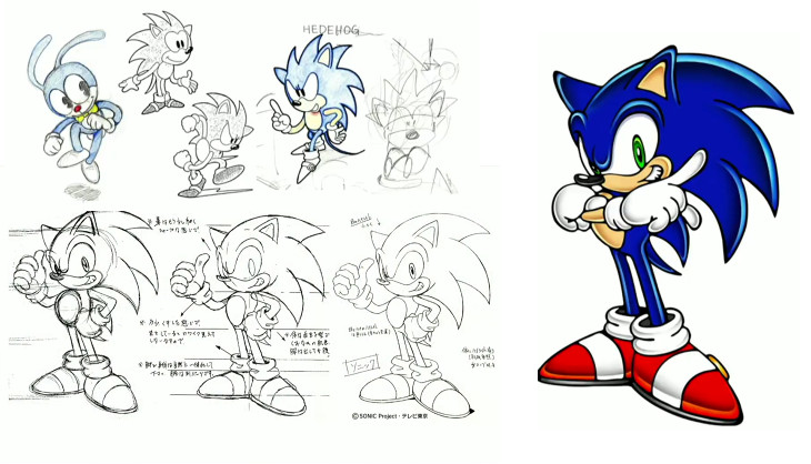 What If Sonic Was A Human Boy The Changing Faces Of Sonic The Hedgehog Sa Gamer