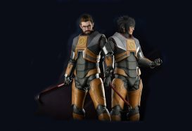 After missing for 10 years, Gordon Freeman returns in cosplay form
