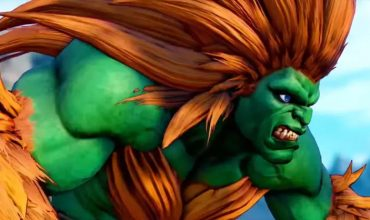 Blanka is charging up for his big Street Fighter V release
