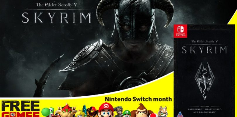 Free Games Vrydag: The Elder Scrolls V: Skyrim (Switch)