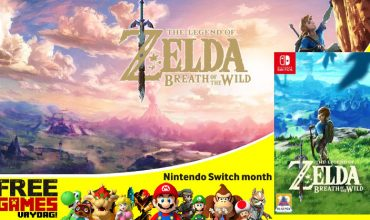 Free Games Vrydag – Legend of Zelda: Breath of the Wild (Switch)